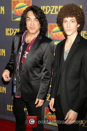 Paul Stanley and Evan Stanley Celebration Day Press Conference at The Museum of Modern Art  New York City, USA...