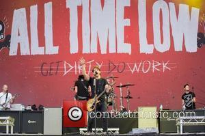 All Time Low  Leeds Festival 2012 held at Bramham Park - Performances - Day One  West Yorkshire, England...