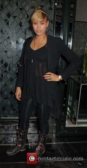 Javine Hylton ,  at the Leo Bancroft hair salon range launch party at the Ivy Club. London, England -...