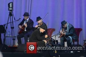 Leonard Cohen performs at the Royal Hospital Kilmainham, Dublin, Ireland - 11.09.12.