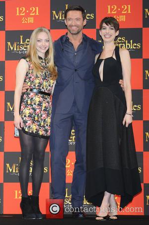 Amanda Seyfried, Les Miserables, Hugh Jackman and Anne Hathaway