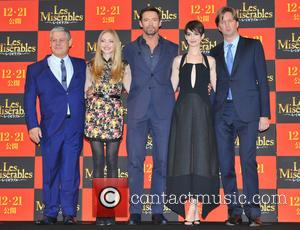 The Premiere, Les Miserables, Cameron Mackintosh, Amanda Seyfried, Hugh Jackman, Anne Hathaway and Tom Hooper