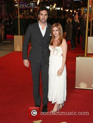Isla Fisher, Sacha Baron Cohen and Empire Leicester Square