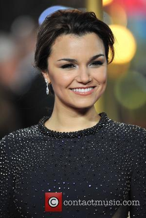 Samantha Barks and Empire Leicester Square