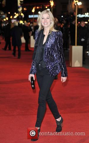 Rosamund Pike and Empire Leicester Square