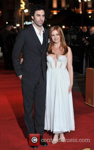 Sacha Baron Cohen and Isla Fisher Les Miserables World Premiere held at the Odeon & Empire Leicester Square - Arrivals....