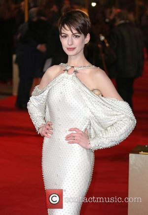 Anne Hathaway and Empire Leicester Square