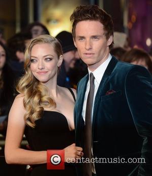 Amanda Seyfried and Eddie Redmayne at the premiere of