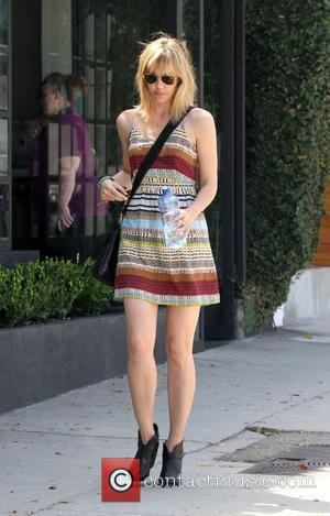 Leslie Bibb leaves a hair salon in West Hollywood Los Angeles, California - 23.08.12