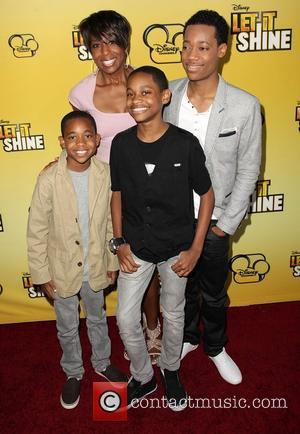 Guest, Dawnn Lewis, Tyrel Jackson Williams and Tyler James Williams Disney's 'Let It Shine' Premiere held at The Directors Guild...