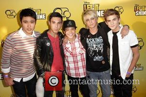 IM5 boy band Disney's 'Let It Shine' Premiere held at The Directors Guild Of America Los Angeles, California - 05.06.12