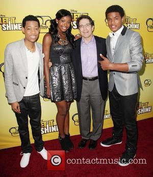 Tyler James Williams, Coco Jones, Gary Marsh and Trevor Jackson Disney's 'Let It Shine' Premiere held at The Directors Guild...