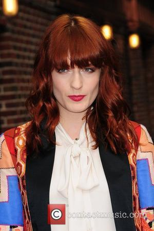 Florence And The Machine lead singer Florence Welch Celebrities arrive at The Ed Sullivan Theater for 'The Late Show with...