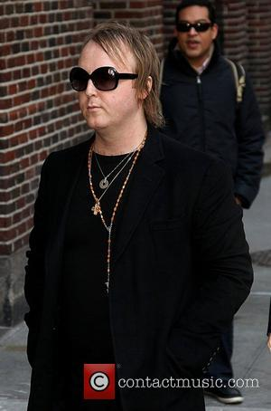 James McCartney,  at The Ed Sullivan Theater to appear on 'The Late Show with David Letterman' New York City,...