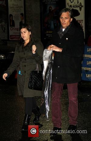 Viggo Mortensen  'The Late Show with David Letterman' at the Ed Sullivan Theater - Arrivals and Departures New York...