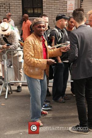 Jimmy Cliff  'The Late Show with David Letterman' at the Ed Sullivan Theater - Arrivals  New York City,...