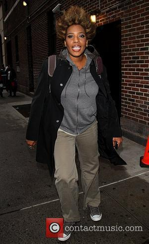 Macy Gray  Celebrities arrive at The Ed Sullivan Theater for 'The Late Show with David Letterman'  New York...