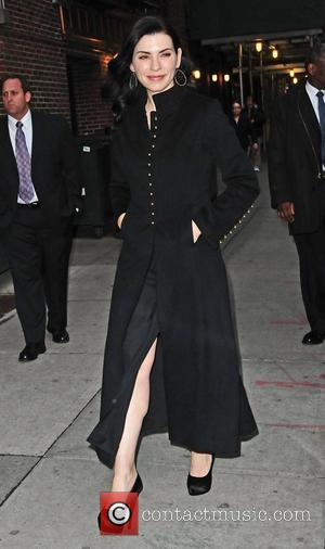 Julianna Margulies, Ed Sullivan Theater, The Late Show and David Letterman