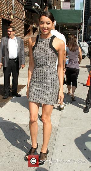 Aubrey Plaza  'The Late Show with David Letterman' at the Ed Sullivan Theater - Arrivals  New York City,...