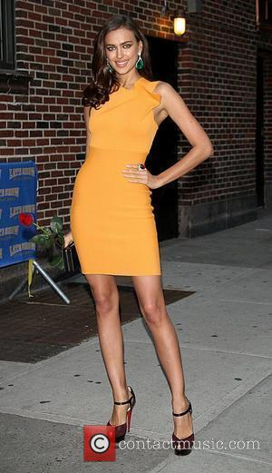 Irina Shayk, Ed Sullivan and The Late Show With David Letterman
