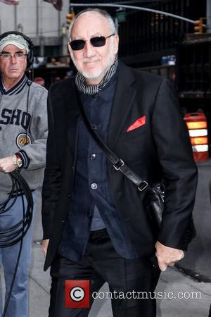 Pete Townshend of the Who  'The Late Show with David Letterman' at the Ed Sullivan Theater - Arrivals New...