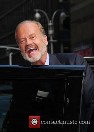 Kelsey Grammer and Ed Sullivan Theatre