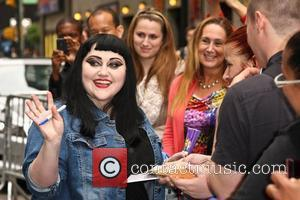 Beth Ditto of The Gossip 'The Late Show with David Letterman' at the Ed Sullivan Theater - Arrivals  New...