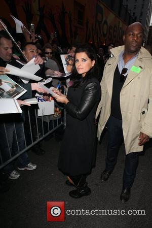 Nelly Furtado Celebrities at The Ed Sullivan Theater for 'The Late Show with David Letterman' New York City, USA -...
