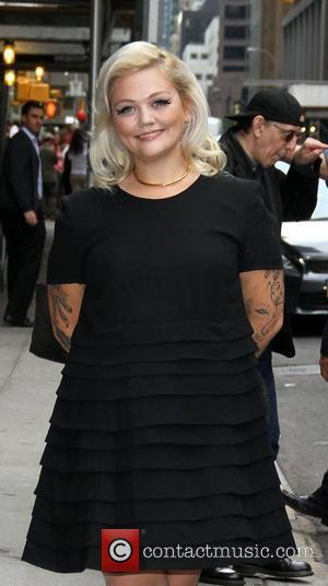 Elle King 'The Late Show with David Letterman' at the Ed Sullivan Theater - Arrivals New York City, USA -...