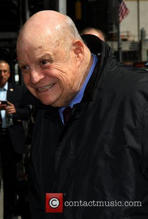 Don Rickles Celebrities arrive at The Ed Sullivan Theater for 'The Late Show with David Letterman'  New York City,...