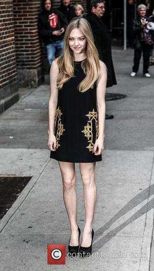 Amanda Seyfried, Ed Sullivan Theatre and The Late Show With David Letterman