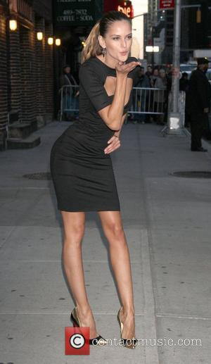 Izabel Goulart 'The Late Show with David Letterman' at the Ed Sullivan Theater - Arrivals and Departures New York City,...