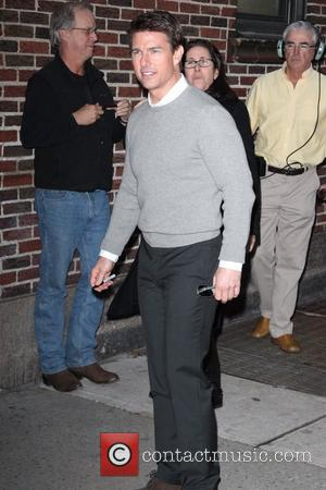 Tom Cruise 'The Late Show with David Letterman' at the Ed Sullivan Theater - Arrivals New York City, USA -...