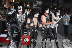 Gene Simmons, Paul Stanley, Eric Singer, Tommy Thayer, Kiss and Ed Sullivan Theatre