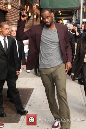 Lebron James 'The Late Show with David Letterman' at the Ed Sullivan Theater - Arrivals New York City, USA -...