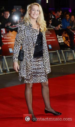 Jerry Hall 56th BFI London Film Festival - 'The Rolling Stones: Crossfire Hurricane' - Gala Screening - Arrivals London, England...