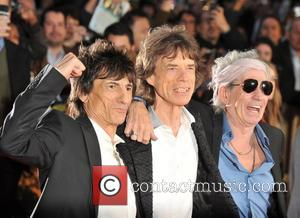 Ronnie Wood, Mick Jagger, Keith Richards and Rolling Stones