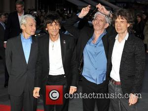 Charlie Watts, Keith Richards, Ronnie Wood and Mick Jagger of the Rolling Stones 56th BFI London Film Festival: 'Rolling Stones...
