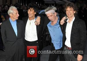 Charlie Watts, Keith Richards, Ronnie Wood, Mick Jagger and Rolling Stones