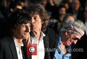 Rolling Stones, Mick Jagger, Ronnie Wood, Odeon Leicester Square, Keith Richards