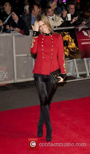 Nicole Appleton  56th BFI London Film Festival: 'Rolling Stones - Crossfire Hurricanes', gala screening held at the Odeon Leicester...