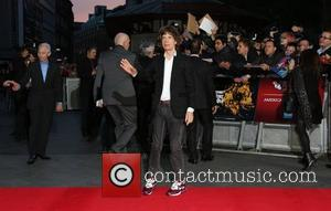 Mick Jagger 56th BFI London Film Festival - 'The Rolling Stones: Crossfire Hurricane' - Gala Screening - Arrivals London, England...