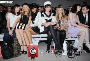 Laura Whitmore, Jameela Jamil, Jo Wood and London Fashion Week