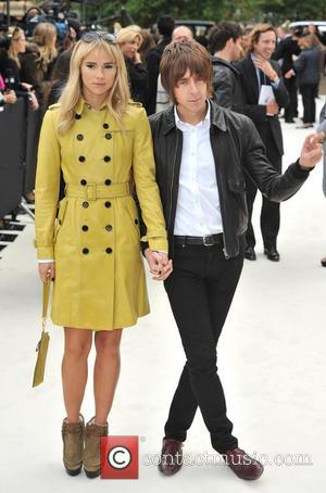 Suki Waterhouse and Miles Kane London Fashion Week: Burberry Spring/Summer 2012 Fashion Show held at Kensington Gardens - Arrivals. London,...