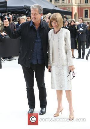Anna Wintour and Mario Testino