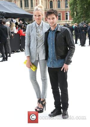 Gabriella Wilde and Roo Panes London Fashion Week Spring/Summer 2013 - Burberry - Arrivals London, England - 17.09.12