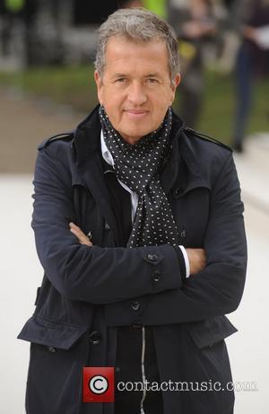 Mario Testino and London Fashion Week