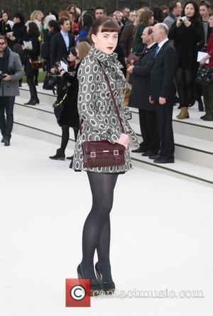 Alexandra Roach London Fashion Week - Autumn/Winter 2012 - Burberry - Arrivals London, England - 20.02.12