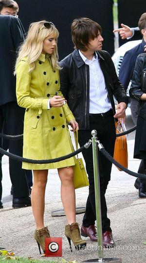 Suki Waterhouse and Miles Kane London Fashion Week Spring/Summer 2013 - Burberry - Outside Arrivals London, England - 17.09.12