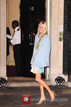 Poppy Delevigne London Fashion Week Autumn/Winter 2012 - Samantha Cameron, Ambassador for the British Fashion Council, holds a reception at...